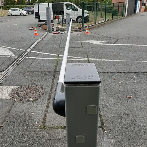 N2S Elec - Pose de barrière levante